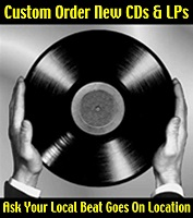 Custom Order New CDs & LPs Ask your local BGO store