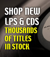 Shop new LPs & CDs